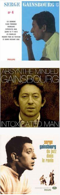 Gainsbourg - platnice albumov