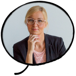 Eva Beltram, koordinatorica prevajanja