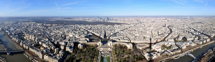 Pariz - panorama