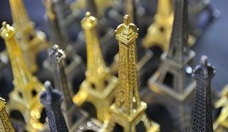 miniaturni Eifflovi stolpi
