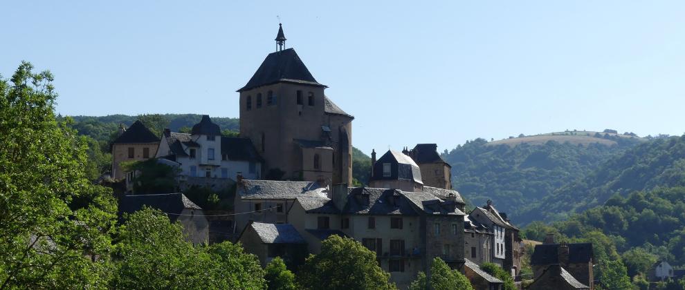 Simpatična vasica Coubisou