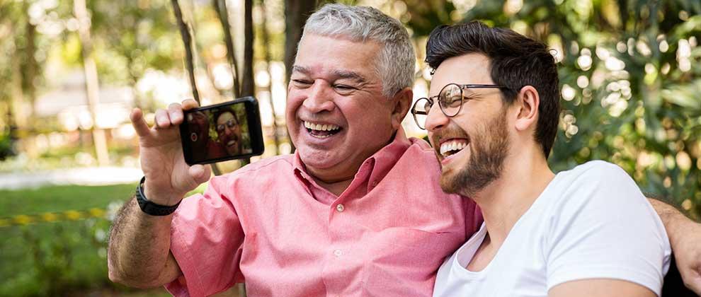 starejši in tehnologija